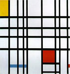Composition with Yellow, Blue, and Red (1937-42)
