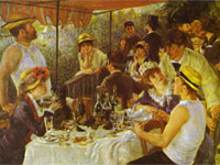 The Luncheon of the Boating Party (1881)